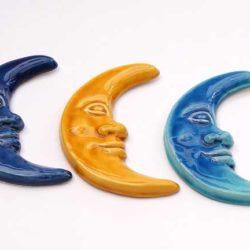 3 Ceramic Moons (3 lunes ceramiques)