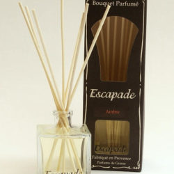 Bouquet of Room Perfums – Glass bottle 100 ml and 7 rattan sticks