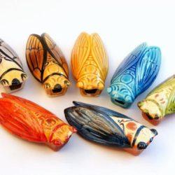 Cicada in Ceramic