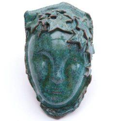 Green Woman, Ceramic