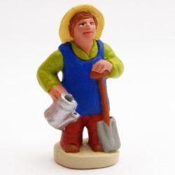 Santon Figure 8/9 cm: Gardener (jardinier)