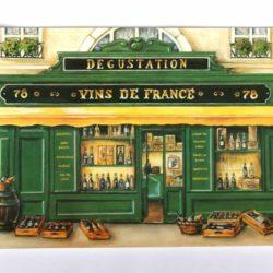 """Table Set """"Vin de France"""" (Set de Table, vin)"""