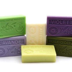 6 organic soaps (savons bio) 100 g