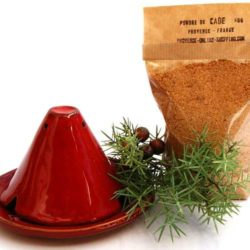 "Cade Starter Kit ""Provence"" Incense Burner + Cade Powder"