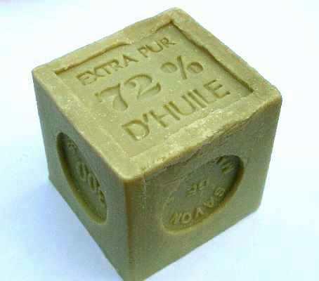 """Natural Soap 300g """"Savon de Marseille"""" – Scent: Olive"""