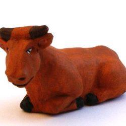 Santon Animal 7 cm: Bullock (boeuf)