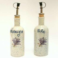 Huile and Vinegar Dispenser (Bouteilles Huile et Vinaigre)