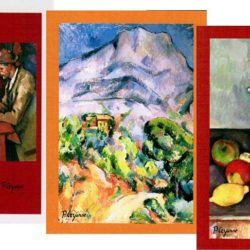 Tea Towels Cezanne pack of 3 (Torchons Cezanne, lot de 3)