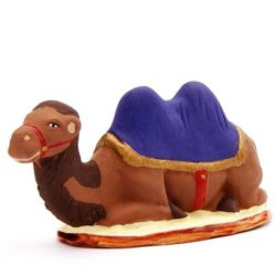 Santon Animal: Sitting Camel (chameau couché)