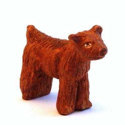 Santon Animal: Dog (chien)