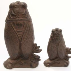 Cast iron Door Stopper Cicada (Cale Porte Cigale en fonte)