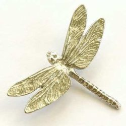 Pewter Dragonfly Brooch