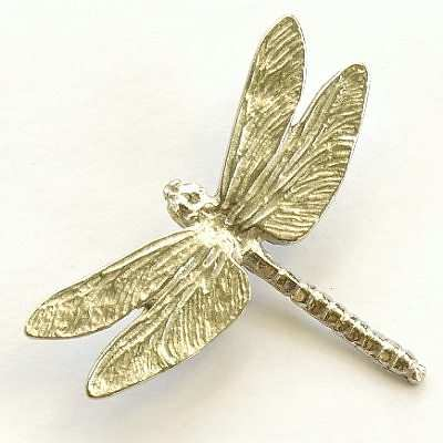 Pewter Dragonfly Brooch