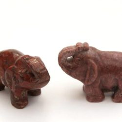 Minature Stone Elephant