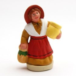 Santon Figure 8/9 cm: Woman with Jug (femme cruche)