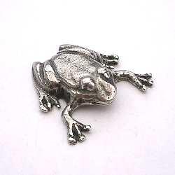 Pewter Frog