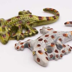 Gecko ceramic
