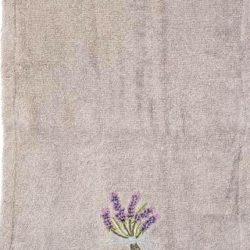 Guest Towel, Lavender (serviette invité lavande)
