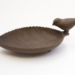 Cast iron Bird feeder / Bowl (Mangeoire Oiseau en fonte)