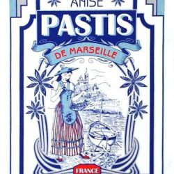 Tea Towel / Kitchen Towel (Torchons) Motive: Pastis