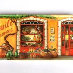 "Tray ""Huile de Provence"" (Plateau ""Huile de Provence"")"