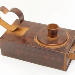 Candle Holder (with drawer) (Porte Bougie (avec tiroir))