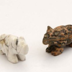 Minature Stone Rhino