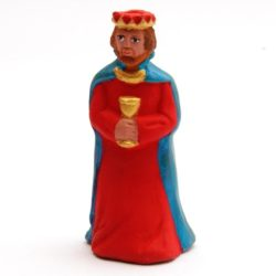 Santon Figure 8/9 cm: King with chalice (roi calice)