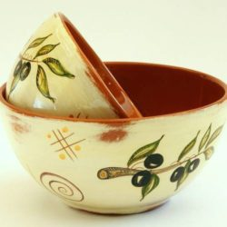 Bowl by Marjorie 15cm, olives