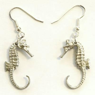 Earrings Seahorse (