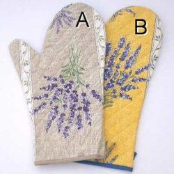 Lavender Oven Gloves (gant lavande)