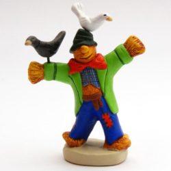 Santon 8/9 cm : Scarecrow (epouvantail)