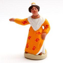 Santon de Provence 8/9 cm Woman Dancer (farandole)