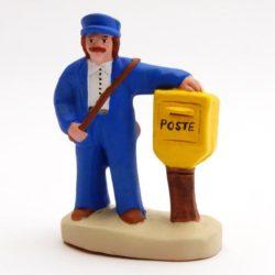 Santon 8/9 cm : Postman (facteur)