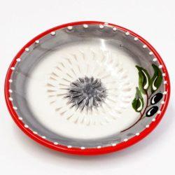 Gratte ail ou rape a gingembre en ceramique